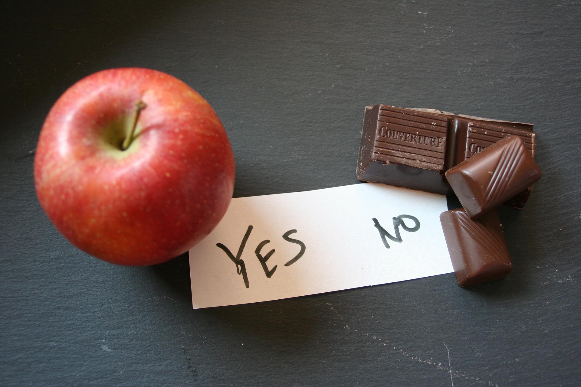Abnehmen braucht eine Entscheidung